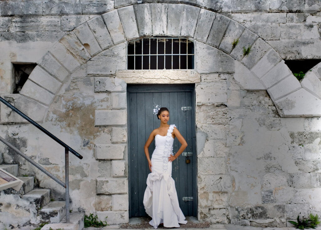 Fashion photography, Bahamas, Nassau photoshoot locations, Miss Bahama on canon, old fort in Bahamas